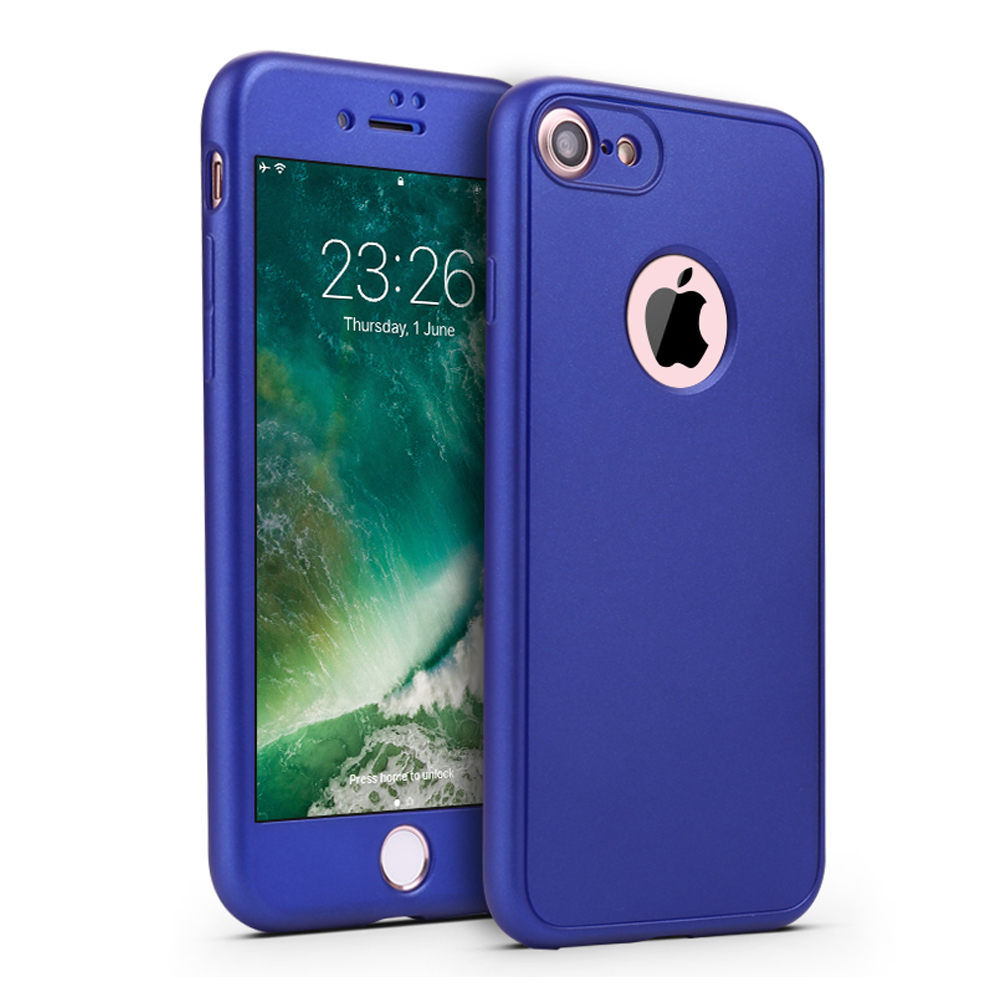 Cell Phones & Accessories 360 Grad Schutz Hülle Für Apple Iphone 8 Iphone 7 Klapp Hülle Etui Flip Case Cell Phone Accessories